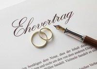 Ehevertrag vor der Hochzeit